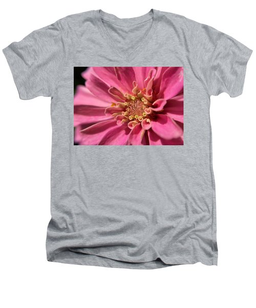 Morning Pink Men's V-Neck T-Shirt