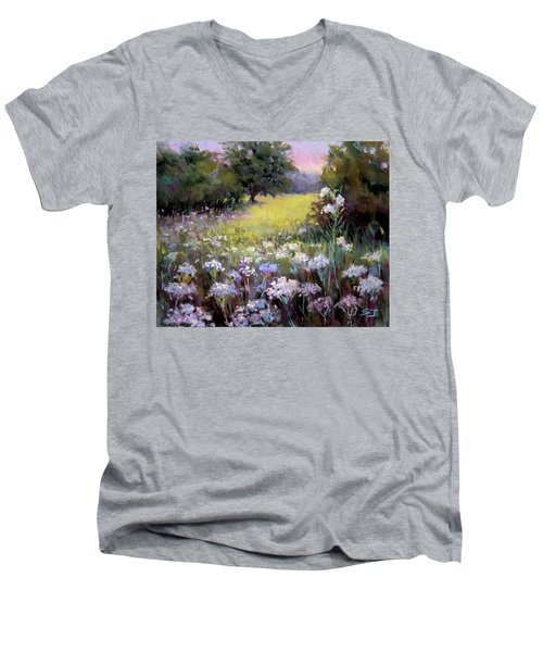 Morning Praises Men's V-Neck T-Shirt