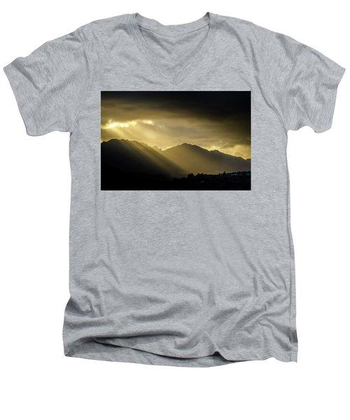 Morning Rays Men's V-Neck T-Shirt