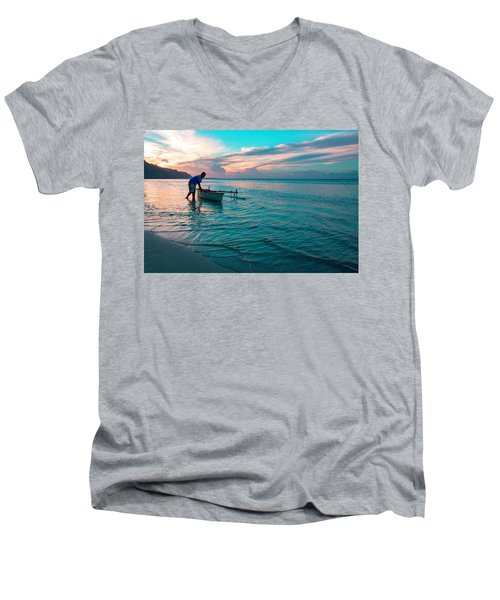 Morning Ritual Men's V-Neck T-Shirt