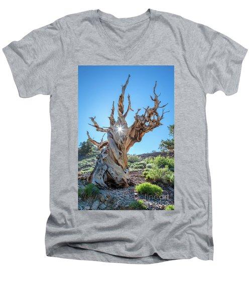 Morning Salutation Men's V-Neck T-Shirt