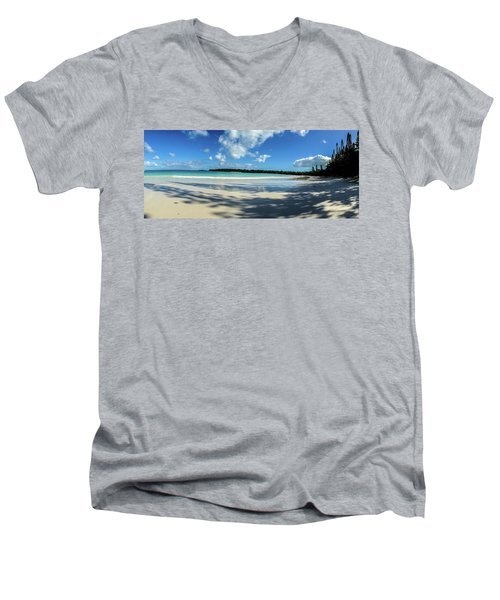 Morning Shadows Ile Des Pins Men's V-Neck T-Shirt