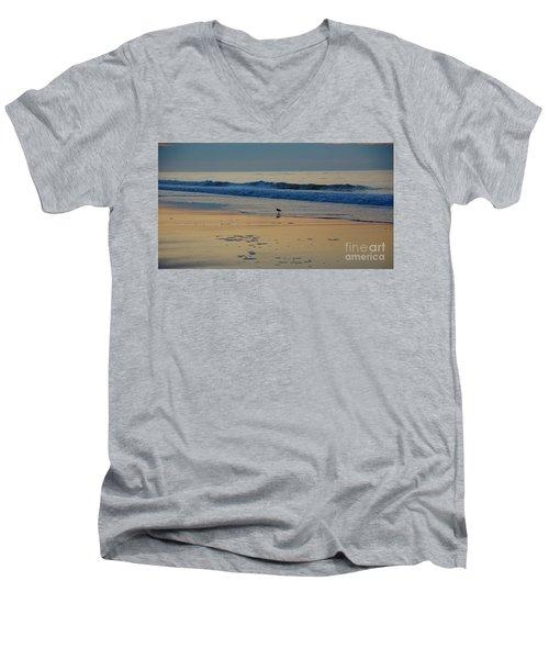 Morning Stroll Men's V-Neck T-Shirt