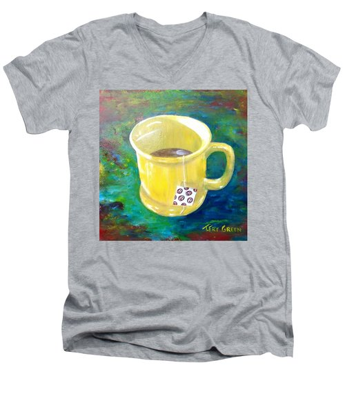 Morning Tea Men's V-Neck T-Shirt