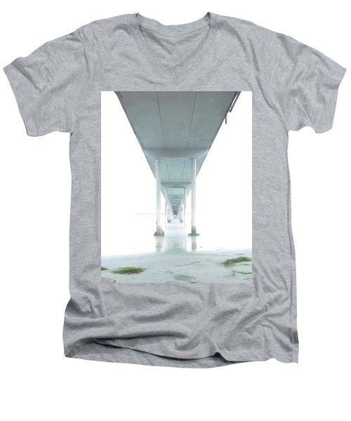 Mornings Underneath The Pier Men's V-Neck T-Shirt