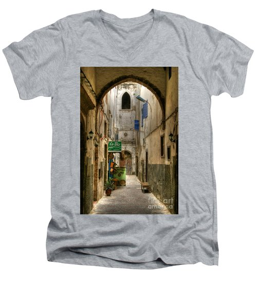 Moroccan Medina Men's V-Neck T-Shirt