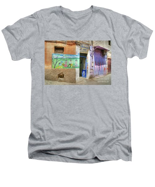 Moroccan Nursery School Men's V-Neck T-Shirt