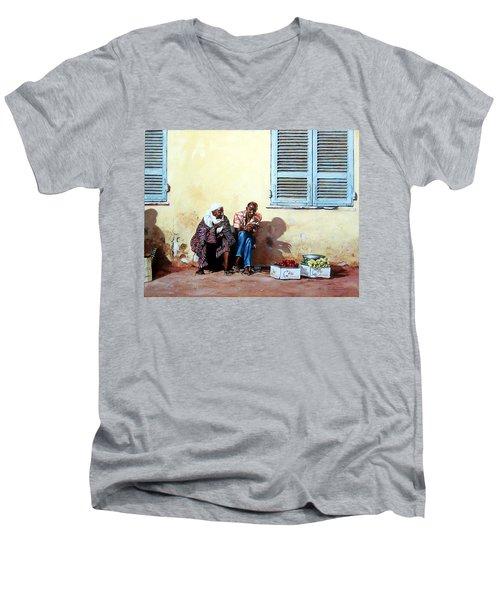 Morocco Men's V-Neck T-Shirt