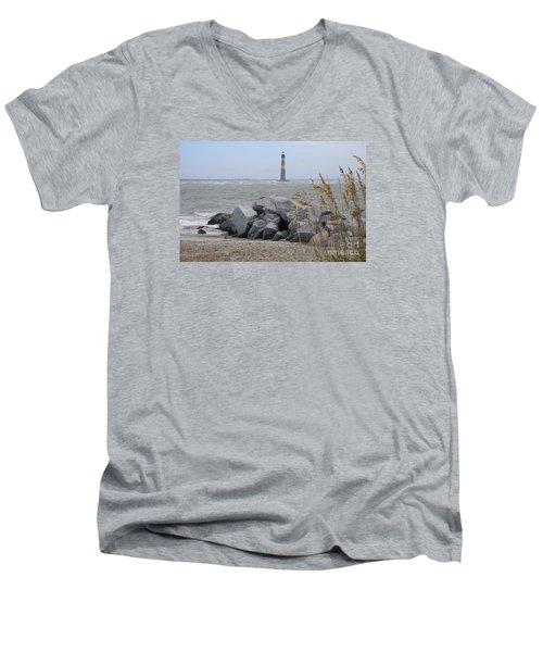 Morris Island Men's V-Neck T-Shirt