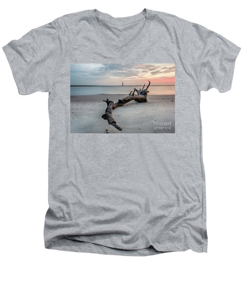 Morris Island Men's V-Neck T-Shirt