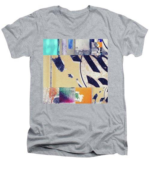 Mosaic2 Men's V-Neck T-Shirt