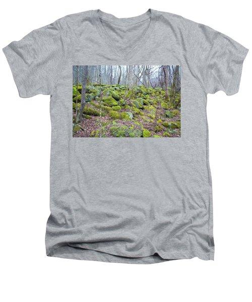 Moss - Gatlinburg Men's V-Neck T-Shirt