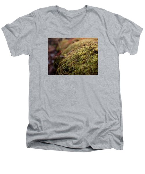 Mossy Men's V-Neck T-Shirt