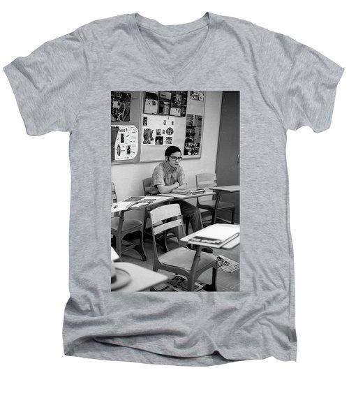 Most Scholarly Student, 1972 Men's V-Neck T-Shirt