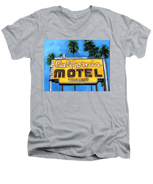 Motel California Men's V-Neck T-Shirt