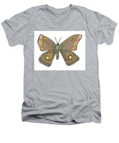 Moth Men's V-Neck T-Shirt