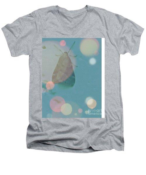 Moth World Men's V-Neck T-Shirt