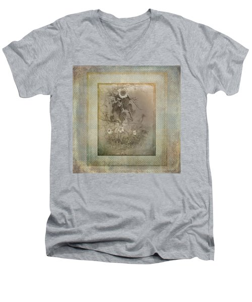 Mother And Child Reunion Vintage Frame Men's V-Neck T-Shirt