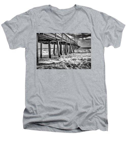 Mother Natures Power Men's V-Neck T-Shirt