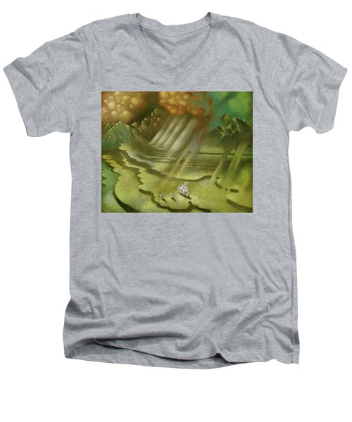 Mother Ship Men's V-Neck T-Shirt