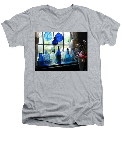 Mother's Day Window Men's V-Neck T-Shirt by John Scates