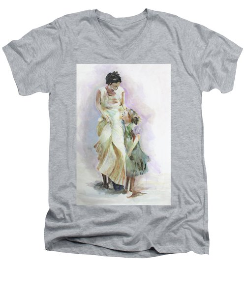 Mothers Love Men's V-Neck T-Shirt