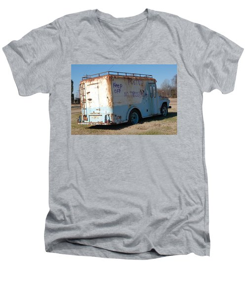 Motor City Pop #16 Men's V-Neck T-Shirt