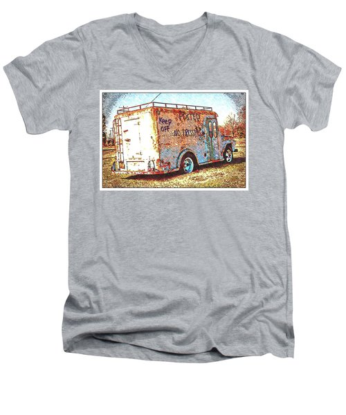 Motor City Pop #19 Men's V-Neck T-Shirt