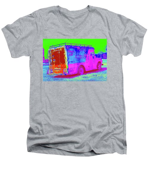 Motor City Pop #20 Men's V-Neck T-Shirt