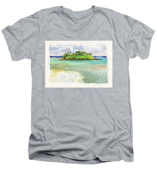 Motu Taakoka Men's V-Neck T-Shirt