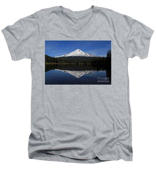 Mount Hood Men's V-Neck T-Shirt