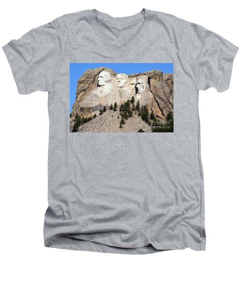 Mount Rushmore I Men's V-Neck T-Shirt