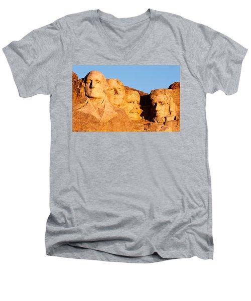 Mount Rushmore Men's V-Neck T-Shirt