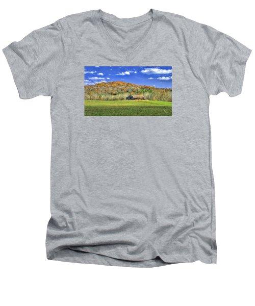 Mountain Barn Men's V-Neck T-Shirt