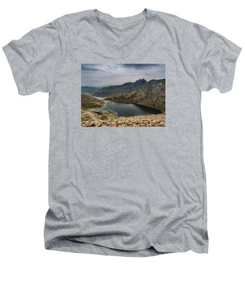 Mountain Hike Men's V-Neck T-Shirt