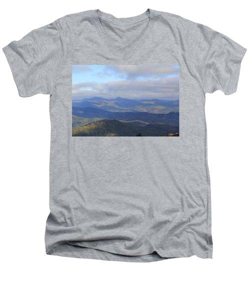 Mountain Landscape 3 Men's V-Neck T-Shirt
