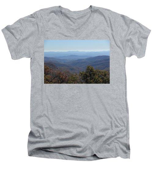 Mountain Landscape 4 Men's V-Neck T-Shirt