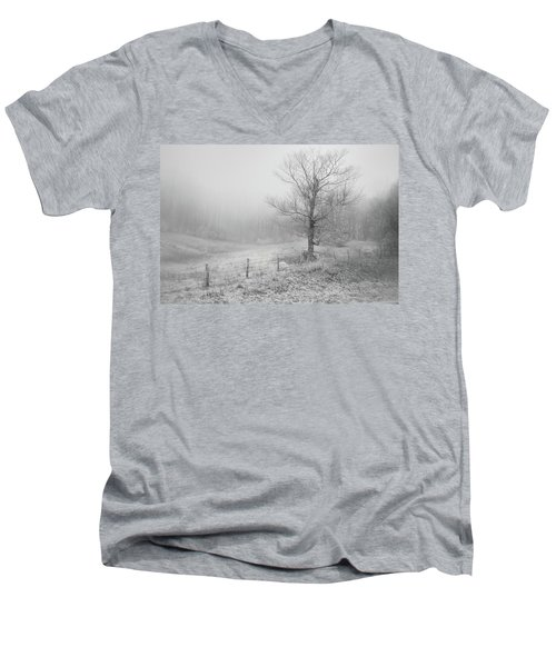 Mountain Mist Men's V-Neck T-Shirt by William Beuther