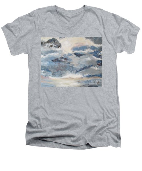Mountain Mist Men's V-Neck T-Shirt