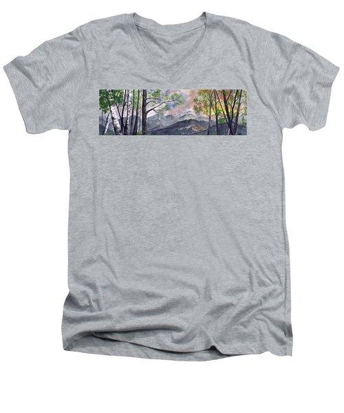 Mountain Morning Men's V-Neck T-Shirt