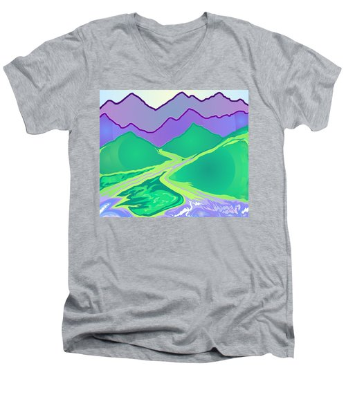 Mountain Murmurs Men's V-Neck T-Shirt
