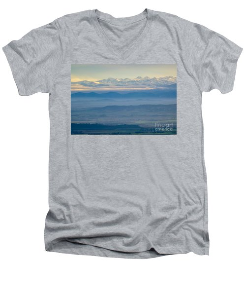 Mountain Scenery 11 Men's V-Neck T-Shirt