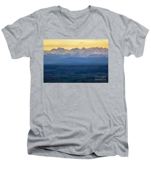 Mountain Scenery 15 Men's V-Neck T-Shirt