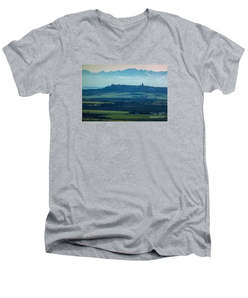 Mountain Scenery 4 Men's V-Neck T-Shirt