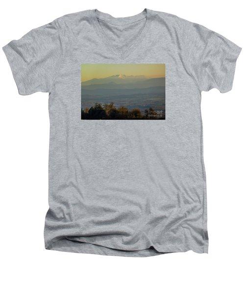 Mountain Scenery 8 Men's V-Neck T-Shirt