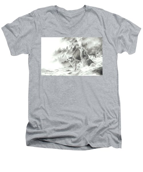 Mountain Spirits Men's V-Neck T-Shirt