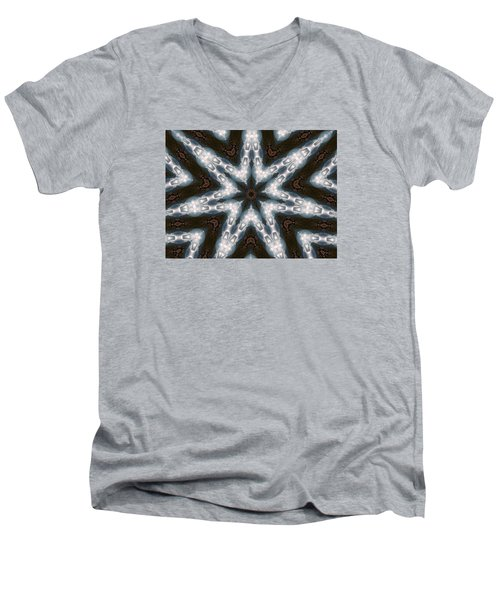 Mountain Star Men's V-Neck T-Shirt