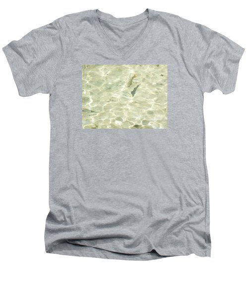 Men's V-Neck T-Shirt featuring the photograph Mountain Stream Trout by Ruth Kamenev