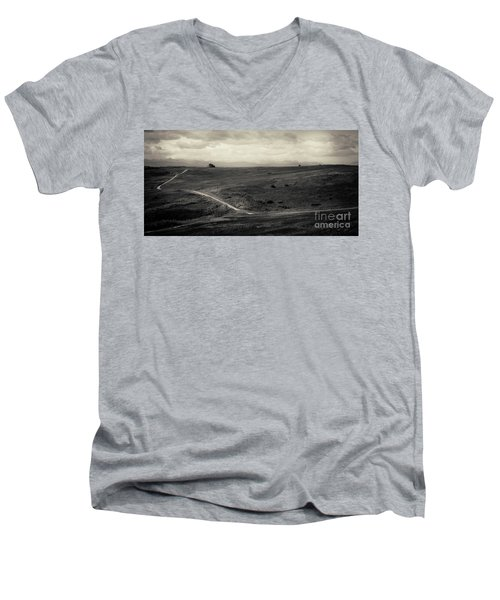 Mountain Trail Men's V-Neck T-Shirt