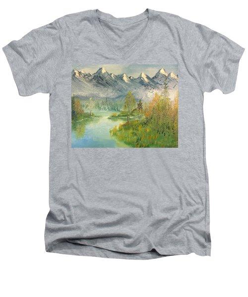 Mountain View Glen Men's V-Neck T-Shirt